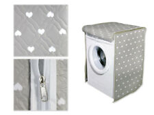 Coprilavatrice chiusura a zip per lavatrici telo protettivo a cuori 60x60x80 cm