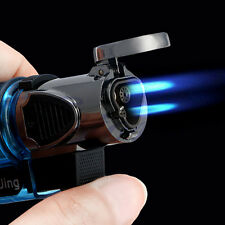 Windproof Refillable Butane Gas Trip Torch Jet Flame Cigarette Cigar Lighter YWL