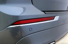 For Volvo XC60 2018 2019 Chrome Rear Fog Light Lamp Eyelid Cover Trim 2pcs ABS