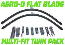 "For Ford  Fiesta MK7 2008-2018 26/15""Aero-D Flat windscreen Wipers Front"