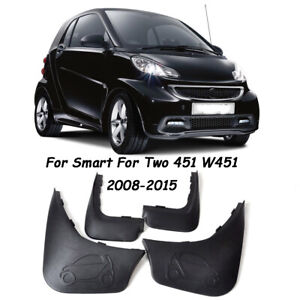 New OEM Splash Guards Mud Guards Mud Flaps For Smart For Two 451 W451 2008-2015