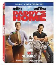 Daddy's Home . Will Ferrell . Mark Wahlberg . DVD + Blu-ray . NEU . OVP