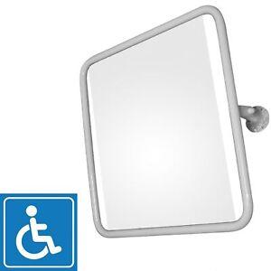 Spiegel Kippspiegel für barrierefreies Badezimmer mit Schrauben Bad 60x60 cm