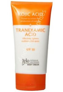 BELO ESSENTIALS KOJIC ACID+TRANEXAMIC ACID INTENSIVE WHITENING BODY LOTION 150ml