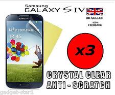 Film Protecteur D'écran LCD HQ Transparent Pour Samsung Galaxy S4 i9500