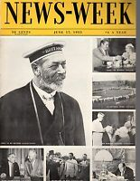 1933 Newsweek June 17-Nazis rout Catholics; Bobby Jones; J P Morgan; Mattern
