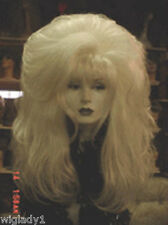 **WIG DRAG QUEEN SULTRY THICK VOLUME LONG BODY FIERCE STRAIGHT WHITE HOT BANGS