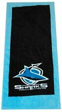CRONULLA SUTHERLAND SHARKS HAND TOWEL 2 PACK NRL NEW PRODUCT