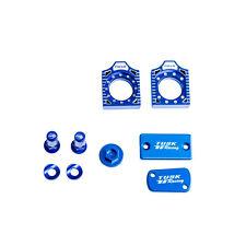 Tusk Billet Bling Kit Blue 03-05 KX125 03-04 KX250