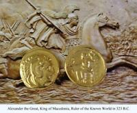 Alexander the Great Percy Jackson books Teen Gift Greek Coins (1-G)