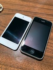 Apple iPhone  Black 3GS A1303 iPod Touch White ? Generation As Is