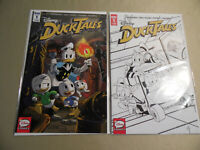 Ducktales #1 Cover A (IDW 2017) + Rare 2nd Print Variant / Free USA Shipping