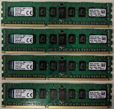Kingston 32gb Kit x4 8GB PC3L-120800 CL11 RDIMM (KVR16LR11D8K4/32) #EB9675