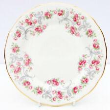More details for vintage royal osborne bone china pink roses ditsy tea plate