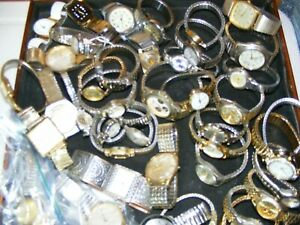 LOT DEAL OF STRETCH BAND VINTAGE-WIND UP-AUTO-NEWER-UNTESTED FOR PARTS OR FIXN