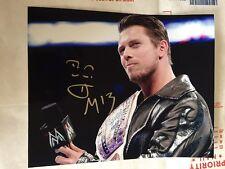 THE MIZ WWE NXT SIGNED 8x10 PHOTO With WWE Intercontinental Belt & COA