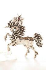 Pegas Unicorn Silver Pendant