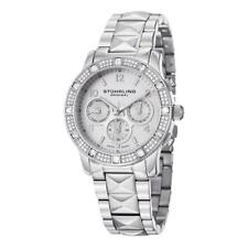 Stuhrling 697 01 Lady Nobilis Swarovski Accented Stainless Steel Womens Watch