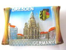 Dresden Frauenkirche Magnet Poly Rolle 7 cm ,Souvenir Germany,Deutschland,Neu