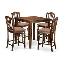 East West Furniture 5 Pc Counter Height Set-Pub Table And 4 Kitchen Chairs NEW