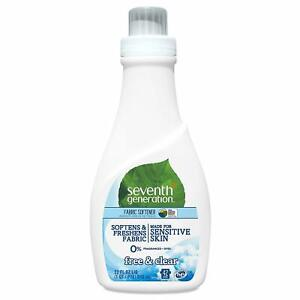 7th Generation Fabric Softener Free and Clear 32 Oz New