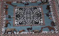 Ginnie Johansen Scarf  Vintage 100% Cotton