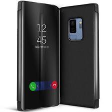 Handy Klapp Tasche für Samsung Galaxy S9 Plus Hülle View Flip Case Schutz Cover