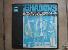 THE SHADOWS 45 TOURS FRANCE SLAUGHTER ON TENTH AVENUE