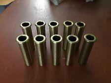 Brand New Lot Of 10 Brass Door Elevator Key Tubes Escutcheon Tubes Free Shipping