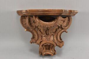 k50r27- Wandkonsole, Holz geschnitzt