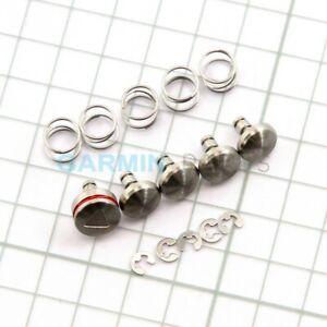 New buttons kit (button,spring,e-clip) for Garmin fenix 6 genuine part repair