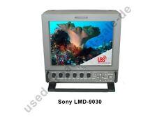 """Sony LMD-9030 - 9"""" Professional LCD Composite, Y/C, SDI, RGB 12V"""