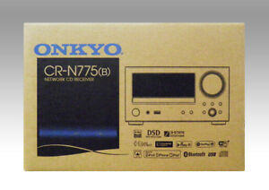 ONKYO CR-N775 (B) Network CD Receiver HiRes Sound Music Black from DHL Fast ship