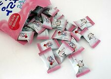 Korean Snacks Strawberry Milk Malang Cow Soft Chewing Candy  - 158g