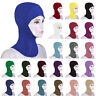 Muslim Women Underscarf Cap Bonnet Ninja Hijab Hat Neck Cover Hair Loss Headwrap