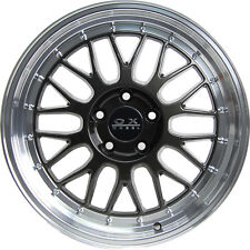 "OX306A 18x8.5"" 5x108 25P Dark Grey Machine Lip Wheel for some Ford, Renault"