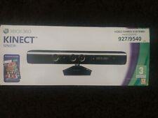 XBOX 360 KINECT Motion sensor Microsoft Official Boxed inc Kinect Adentures! VGC