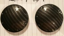 AUDI TT mk1 carbon fibre dipped door discs Door Trim Cover Circle 8N0867163