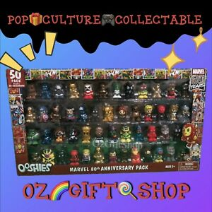 Ooshies Marvel 80th Anniversay Pack - 50 Ooshies with 20 Exclusives