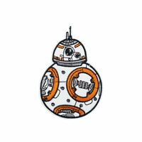 Robot BB8 (Iron on) Embroidery Applique Patch Sew Iron Badge