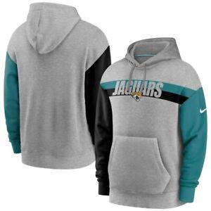 Men's Nike NFL Jacksonville Jaguars Heathered Pullover Hoodie XL