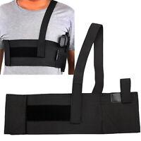 Mens Hidden Military Tactical Chest Pistol Hand Gun Holster Backpack Pouch Bags