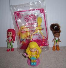 Strawberry Shortcake, Lemon Meringue & Orange Blossom Figures/Cake Toppers