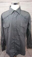 Blac Label Purgatory Dark Angel Long Sleeve Button Shirt Men's Size 3XL