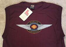 Harley Davidson winged Bar And Shield sleeveless Shirt Nwt Men's Large