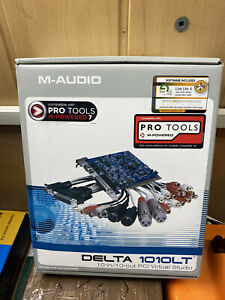 M-Audio Delta 1010LT 10in/10out Breakout PCI Card, Audio Interface