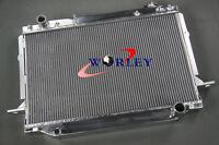 Aluminum Radiator for TOYOTA Landcruiser FZJ80 4.5L 1FZ-FE 1990-1998 Manual