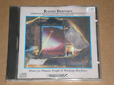 RANDY BERNSEN -MUSIC FOR PLANETS,PEOPLE & WASHING MACHINES -CD COME NUOVO (MINT)