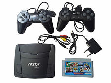 VICTOR Classic 8 Bit Tv Video Game Set For Kid and Adults