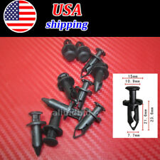 100x ATV Retainer Clips Push Pin Splash Guard Body Panel for Honda 90653-HC4-900